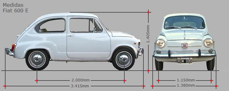 El histórico Fiat 600
